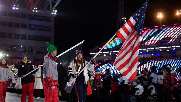 Победу в медальном зачете праздновали представители США. Фото REUTERS