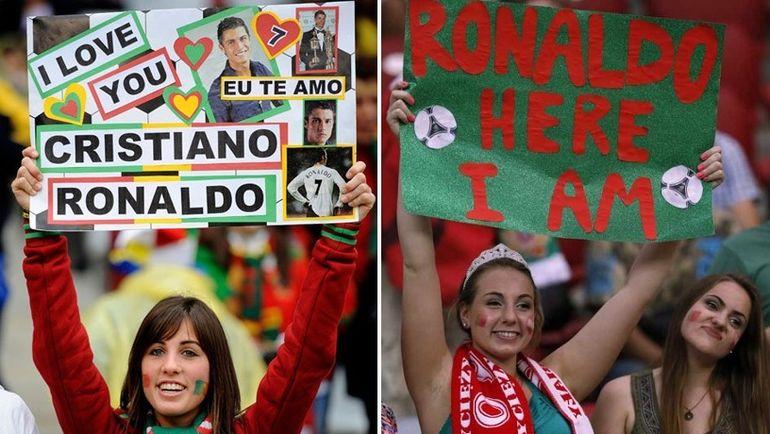 Но чаще всего девушки пытаются достучаться до одного из лучших игроков планеты Криштиану Роналду. Фото sportskeeda.com
