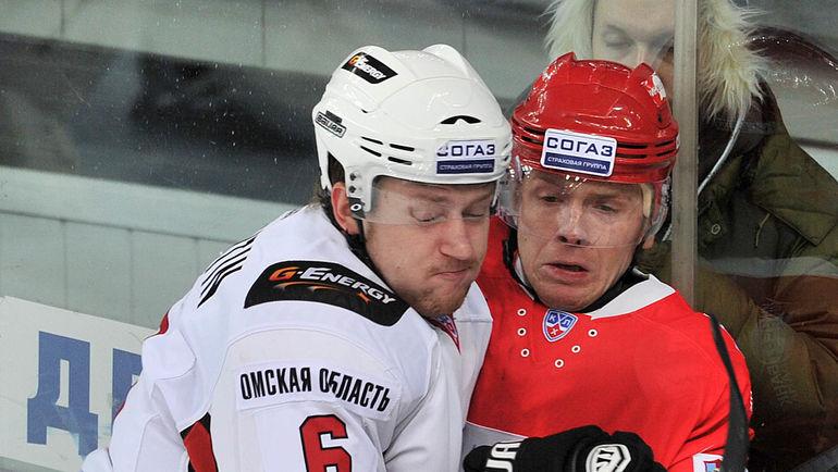 Никита НИКИТИН (слева). Фото Алексей ИВАНОВ.