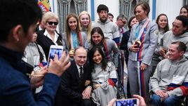 Президент наградил паралимпийцев