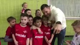 Слуцкий и Дзюба в гостях у