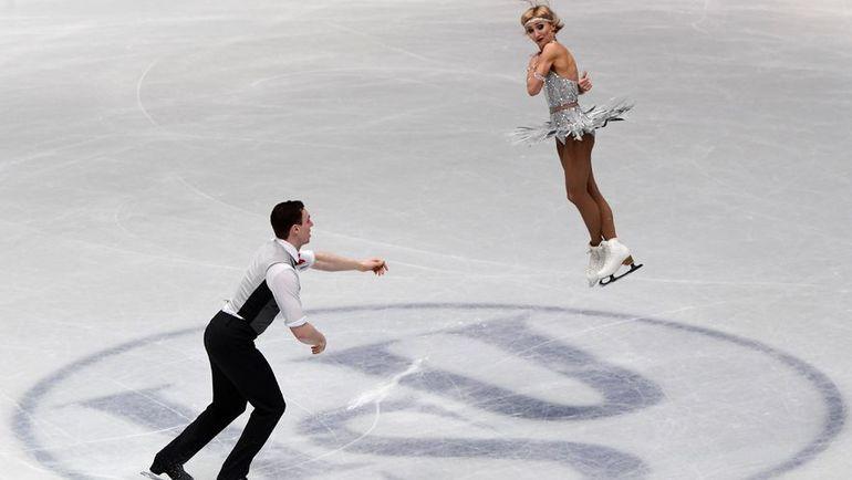 Вчера. Милан. Алена САВЧЕНКО и Бруно МАССО. Фото AFP
