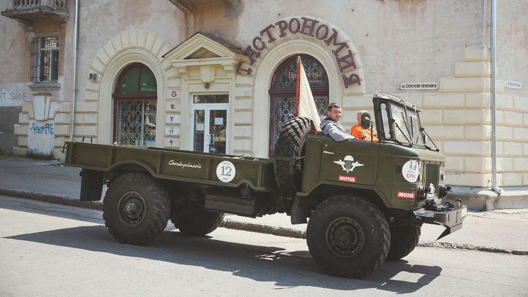 """В этом году специально для участия в """"Нахимове"""" в Крым приедут автоспорсмены-энтузиасты из Европы. Фото Gorkyclassic"""
