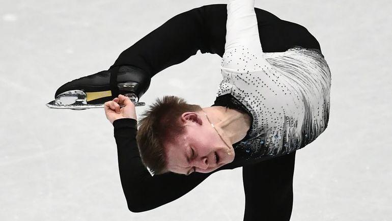 Русский фигурист Коляда завоевал бронзу начемпионате мира вМилане