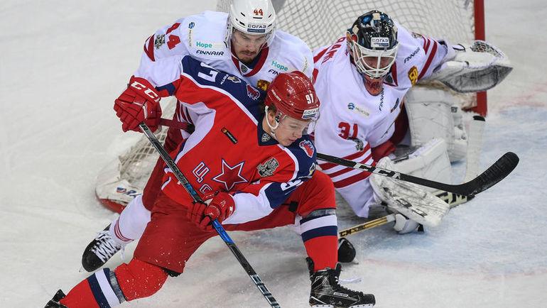 «Йокерит» обыграл ЦСКА впятом матче ¼ финала плей-офф КХЛ