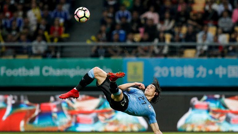 Уругвайцы обыграли чехов втоварищеском матче вКитайской республике