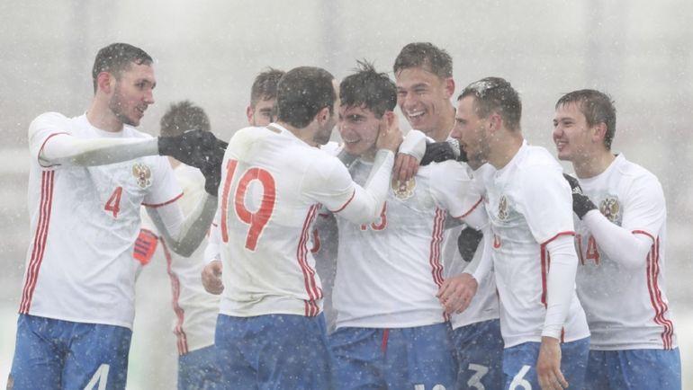 Футболисты молодежной сборной РФ обыграли македонцев вотбореЧЕ