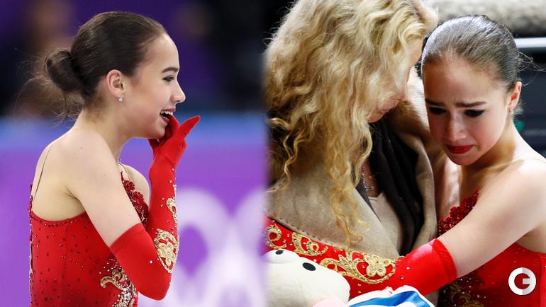 Алина ЗАГИТОВА на Олимпиаде-2018 и на чемпионате мира.