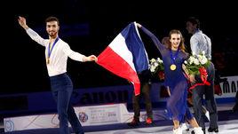 У французов – золото и рекорд, у России – снова две квоты