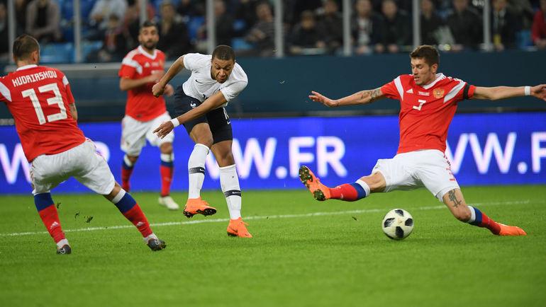 Россия - Франция: все голы матча. Кто виноват