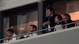 Месси не выдержал разгрома Аргентины в Мадриде