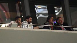 Месси ушел с трибуны после шестого гола сборной Испании