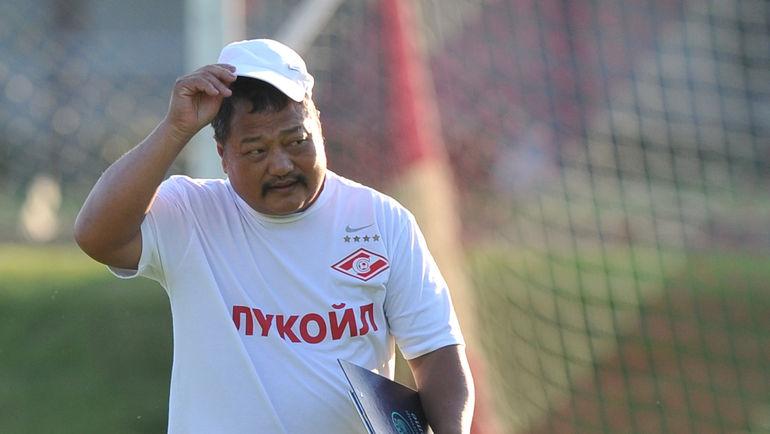 Каррера получил «Золотую скамью» запобеду вчемпионате Российской Федерации со«Спартаком»