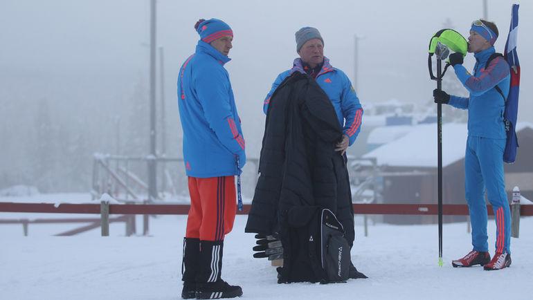 Андрей КРЮЧКОВ, Андрей ГЕРБУЛОВ, Алексей ВОЛКОВ. Фото Андрей АНОСОВ, СБР