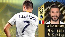 Алессандрини - самый популярный игрок MLS в FIFA 18