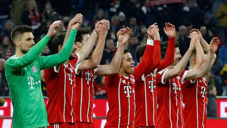 """""""Бавария"""" приговорила бундеслигу. Дортмунд получил шесть пробоин"""