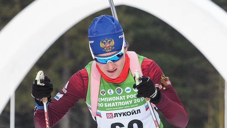 Анастасия ЕГОРОВА. Фото biathlonrus.com