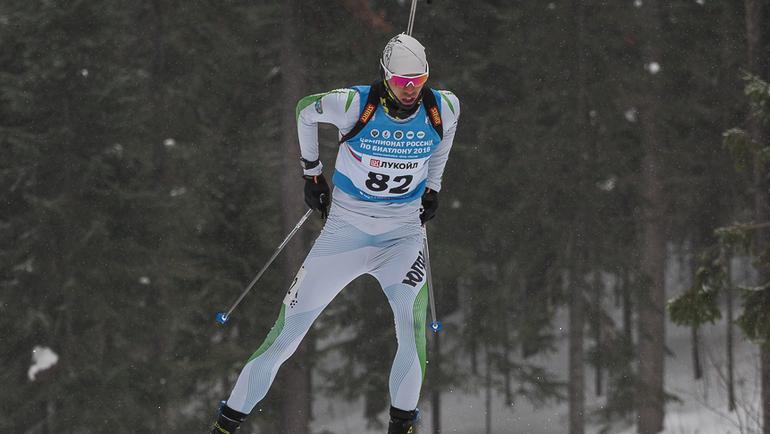 Никита ПОРШНЕВ. Фото biathlonrus.com