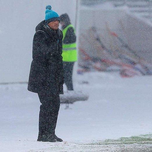 """Роберто Манчини: """"Это был хороший хоккейный матч"""""""