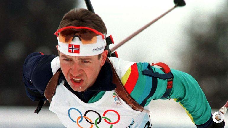 1998 год. Оле Эйнар БЬОРНДАЛЕН на Олимпиаде в Нагано.