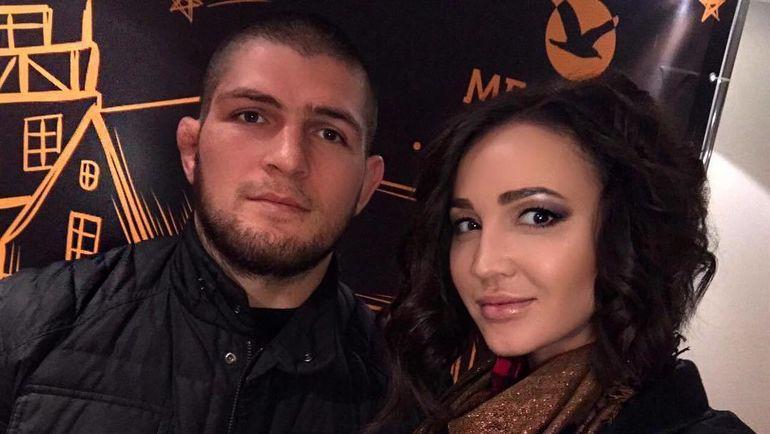 Хабиб НУРМАГОМЕДОВ и Ольга БУЗОВА. Фото instagram.com