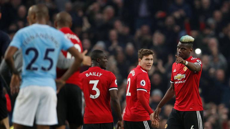 """Игроки """"Манчестер Юнайтед"""" празднуют очередной гол в ворота соперника. Фото AFP"""