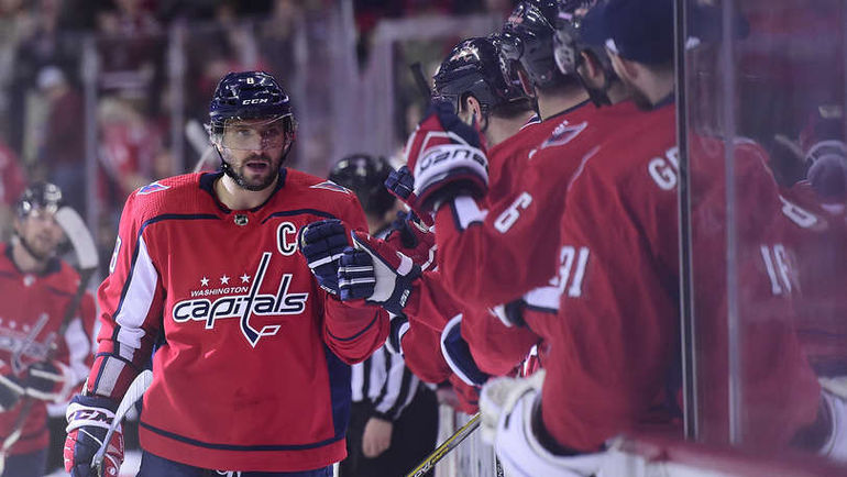 Александр ОВЕЧКИН вновь стал лучшим снайпером НХЛ. Фото НХЛ