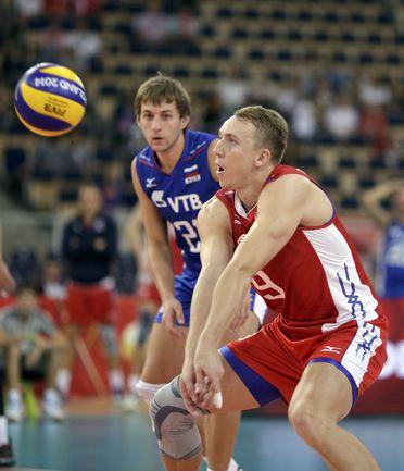 Волейболист Алексей СПИРИДОНОВ. Фото AFP