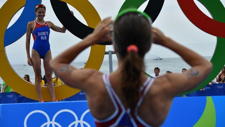 Мария ШОРЕЦ в олимпийском Рио-2016: фото на память. Фото REUTERS