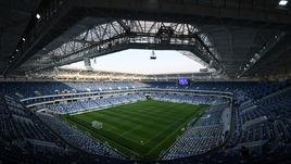 Стадион ЧМ в Калининграде. На нем уже играют