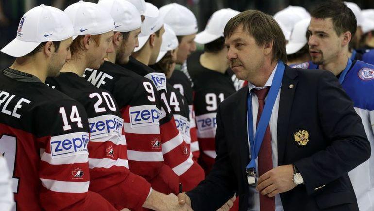 Знарок сложил полномочия основного тренера сборной Российской Федерации, Воробьев назначен временно