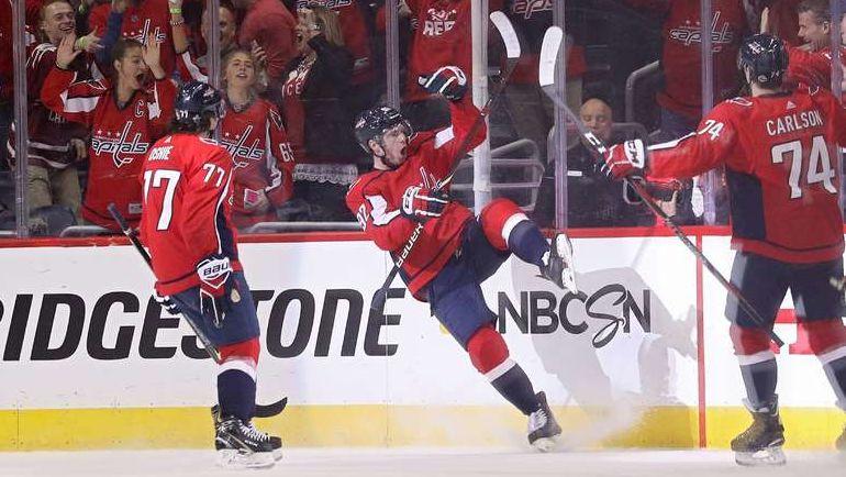 «Коламбус» повел всерии плей-офф НХЛ с«Вашингтоном» благодаря шайбе Панарина
