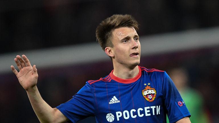 Александр ГОЛОВИН удачно сыграл против'Арсенала