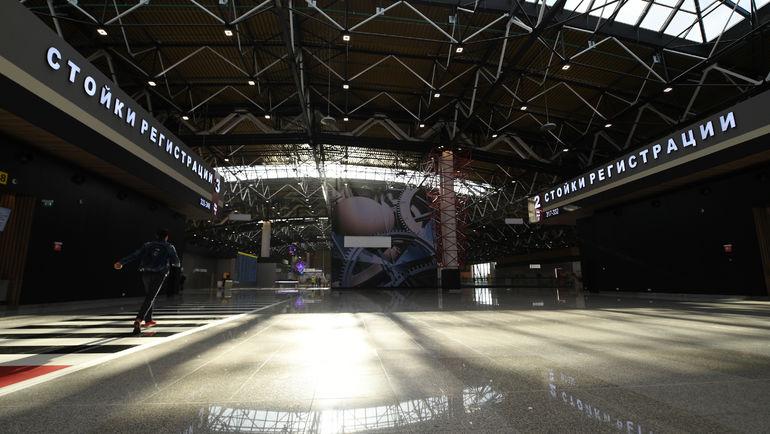 """Площадь терминала - 110 500 квадратных метров. Фото Александр ФЕДОРОВ, """"СЭ"""""""