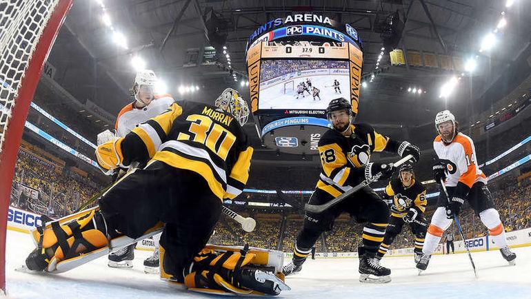 """Чокнутая Пенсильвания. """"Питтсбург"""" разнесли в самом безумном дерби НХЛ"""