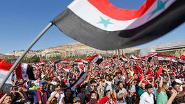 Сирийские болельщики передали привет Трампу