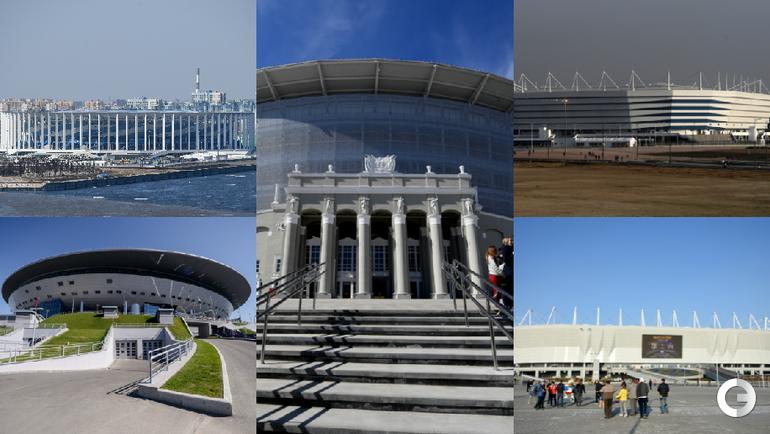 Новые стадионы ЧМ-2018.