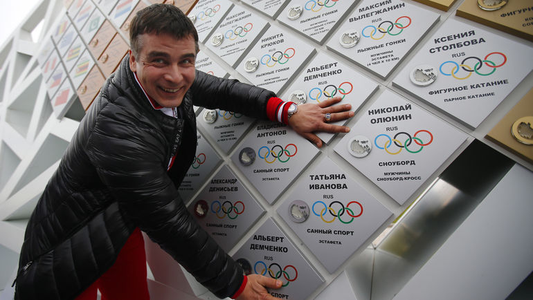 Альберт ДЕМЧЕНКО: удержит ли он ситуацию в сборной в своих руках? Фото Андрей ГОЛОВАНОВ и Сергей КИВРИН