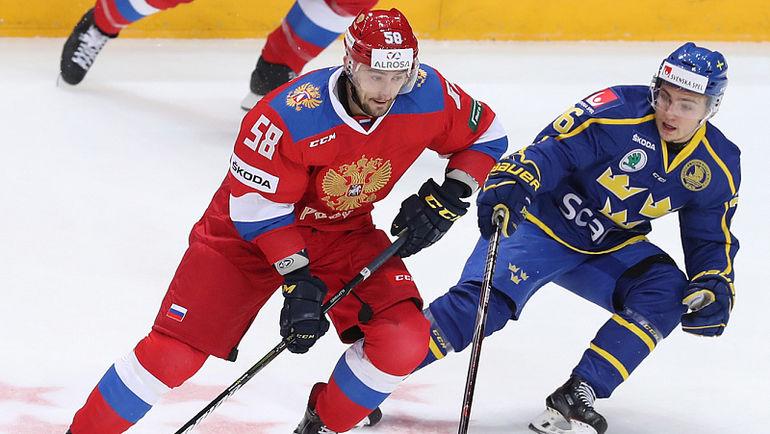 Российская Федерация проиграл Швеции впервом матче под управлением Воробьева