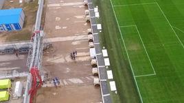 Выкат поля стадиона