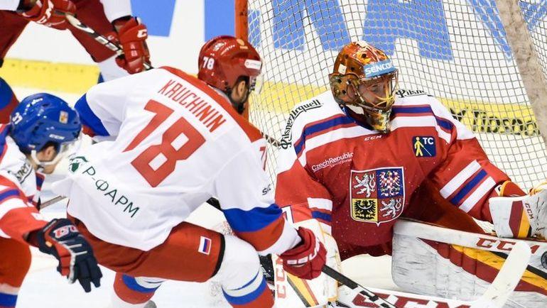 Сборная РФ проиграла чехам, заняв последнее место наэтапе Евротура