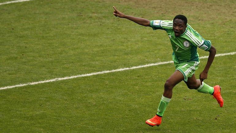 Нападающий сборной Нигерии и ЦСКА Ахмед МУСА. Фото AFP