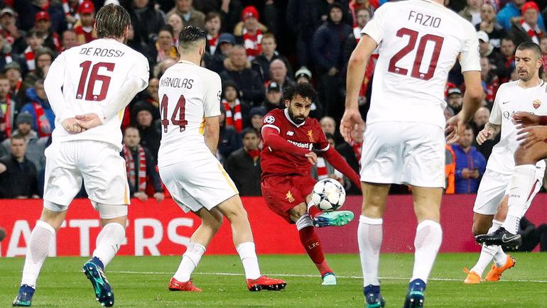 «Ливерпуль» разгромил «Рому» в полуфинале Лиги чемпионов (Видео)