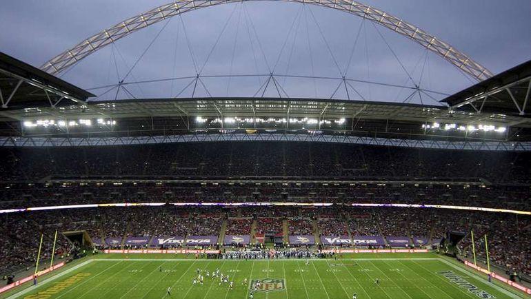 """Матч Международной серии НФЛ на стадионе """"Уэмбли"""". Фото REUTERS"""