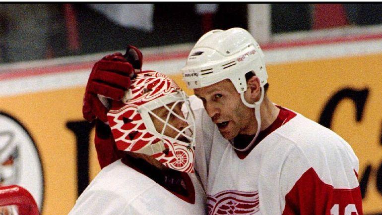 1997 год. Майк ВЕРНОН (слева) и Владимир КОНСТАНТИНОВ. Фото REUTERS