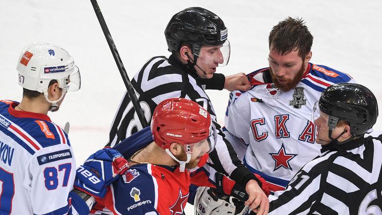 """Введут ли в КХЛ перекрестный плей-офф? Фото Дарья ИСАЕВА, """"СЭ"""""""