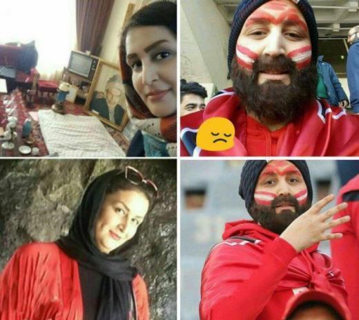 Иранские женщины попали нафутбольный стадион ввиде мужчин