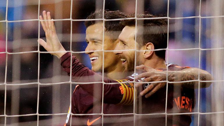 «Барселона» в25-й раз выиграла чемпионат Испании
