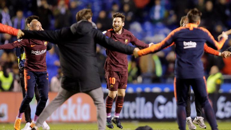 """Опять двадцать пять! """"Барселона"""" – чемпион Испании"""