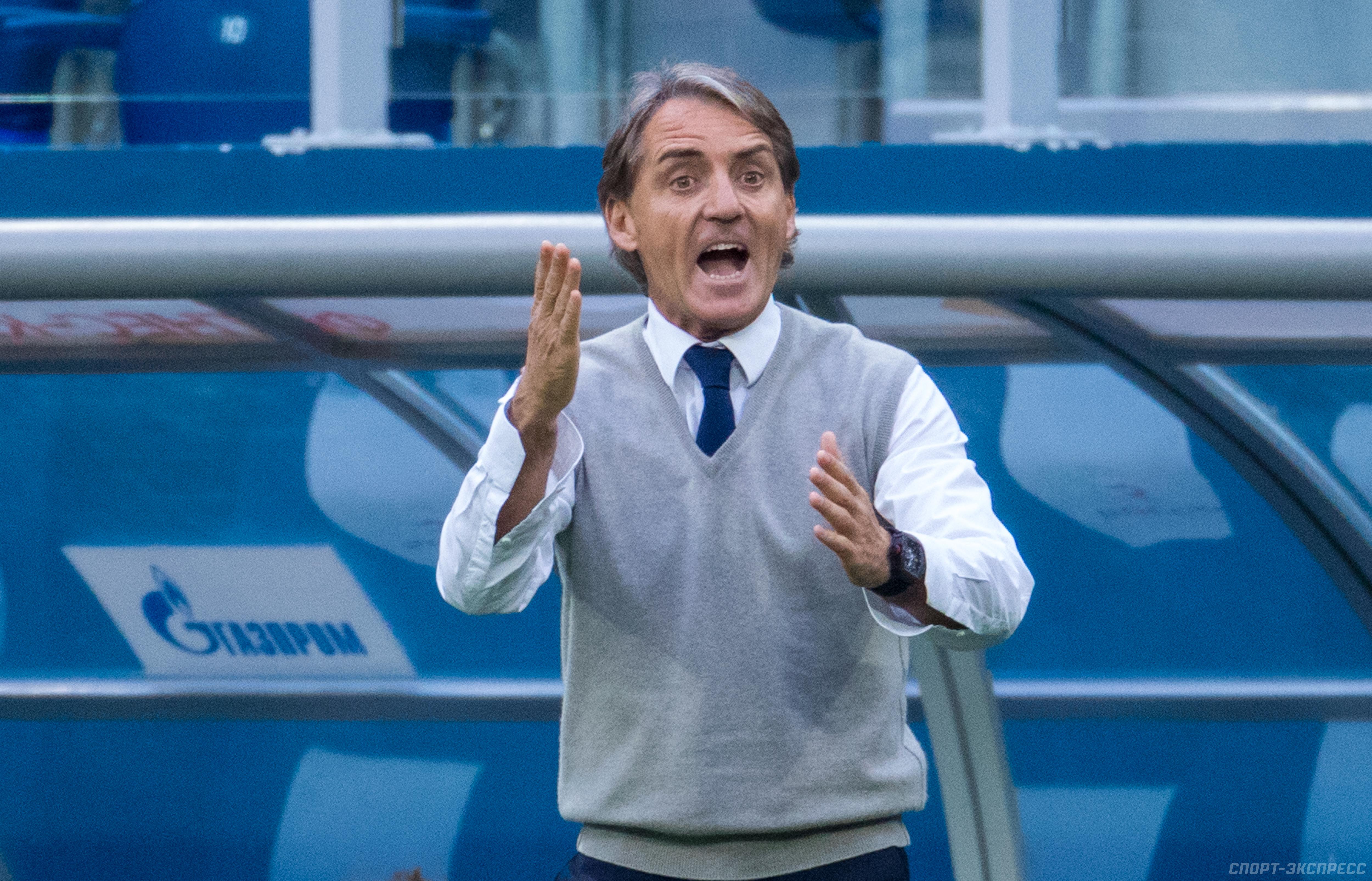 Манчини мечтает возглавить сборную Италии